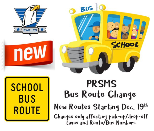 New Bus Routes begin on December 19!