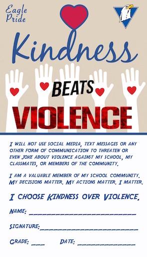 Kindness beats Violence