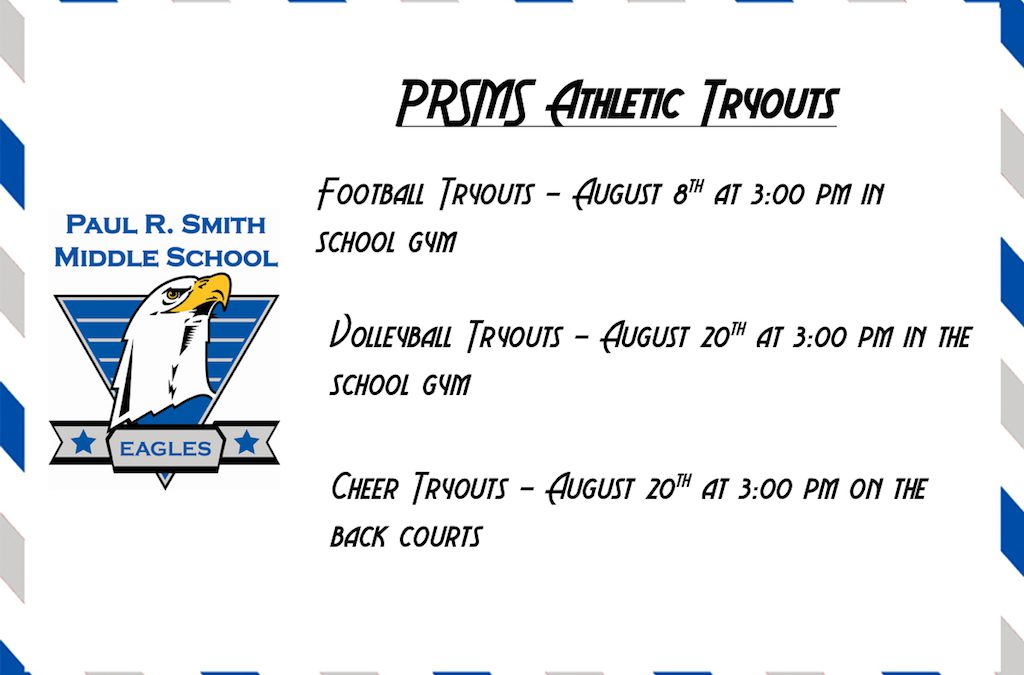 PRSMS Athletic Tryouts
