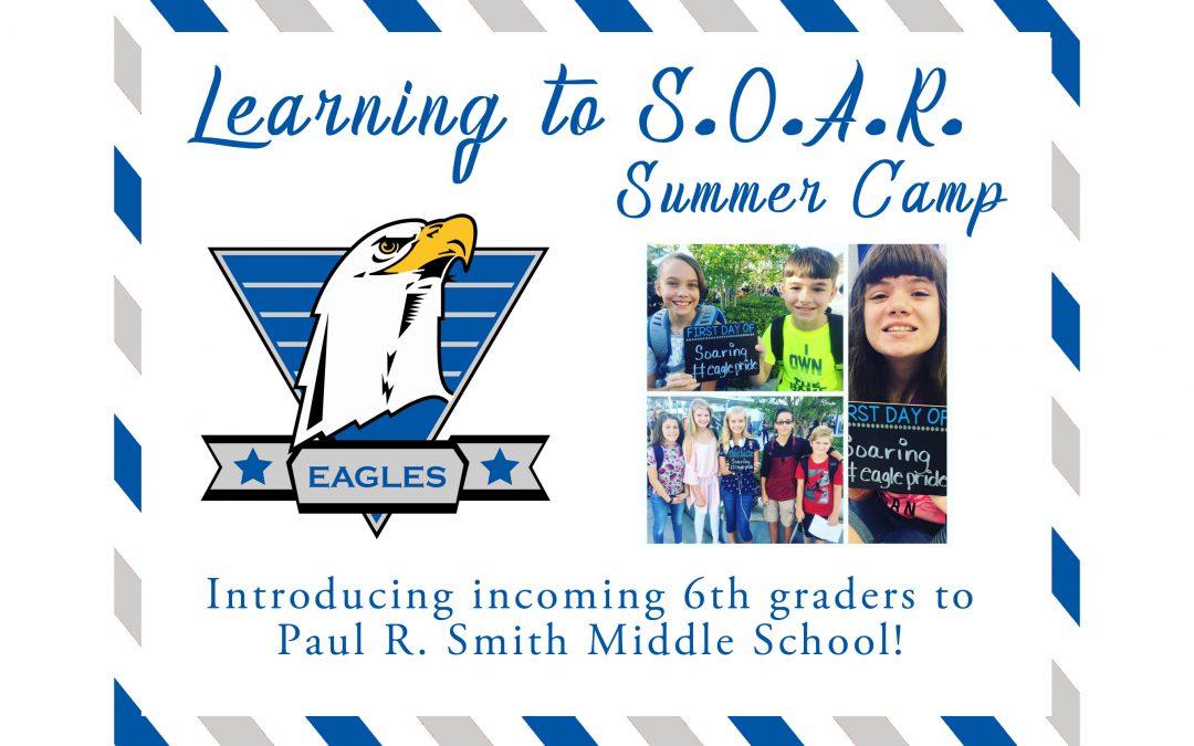 New 6th Grade SOAR Summer Camp – July 25