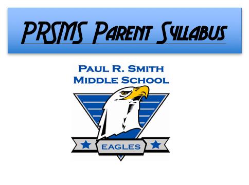 Parent Syllabus