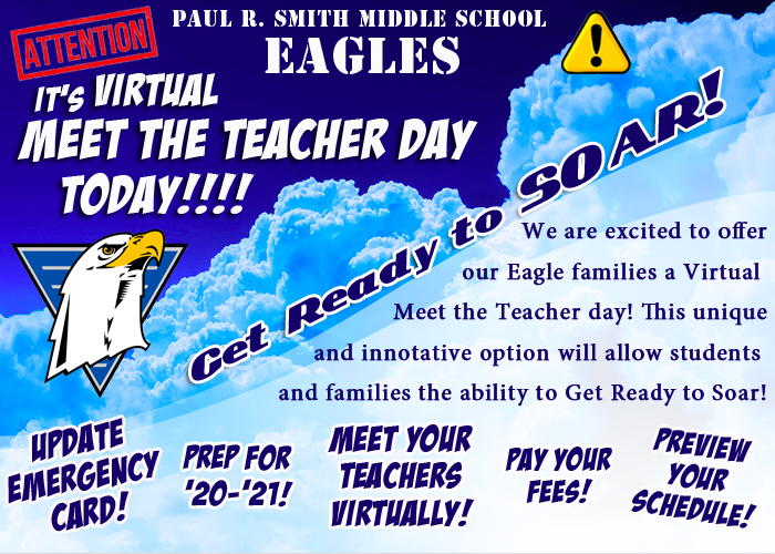 Click Here for Virtual Meet the Teacher Day!