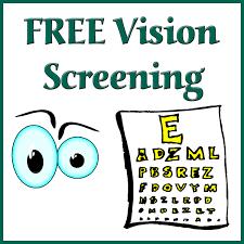 Vision Screening – Nov. 18