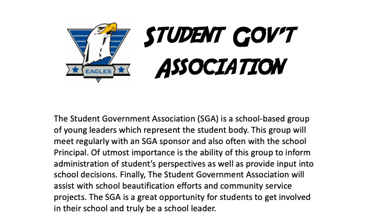 Calling Eagle Student Leaders!