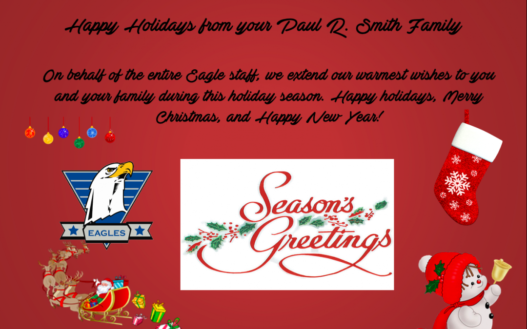 Happy Holidays from your Eagle Family