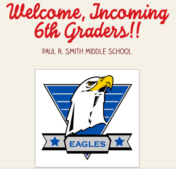 Welcome, 2021-2022 6th Graders!