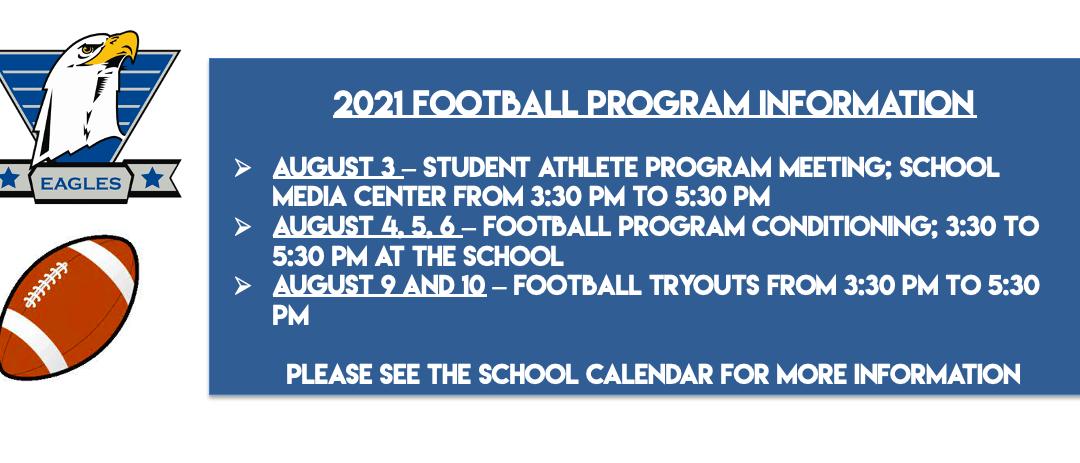 2021 Football Program